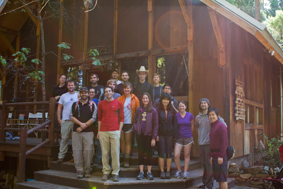 Coco and Langcog labs at Yosemite, Lab Retreat 2012